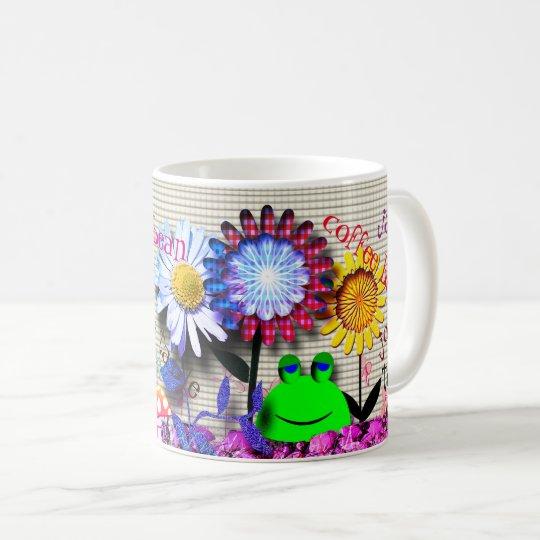 De kikkers nemen de Stad van de Koffie over Koffiemok