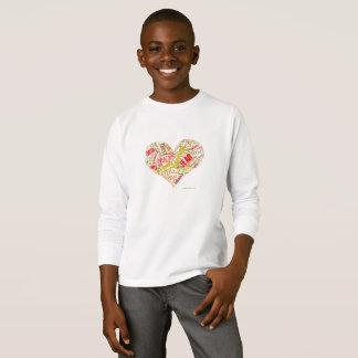 De kind Gemachtigde Lange Sleeved Bovenkant van T Shirt