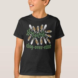 De kinder Grappige Belemmerende Belemmering van de T Shirt