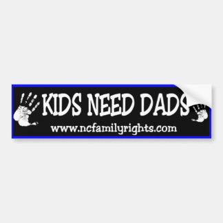 De kinder Sticker van de Bumper van Dads van de Be