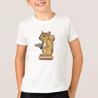 De kinder T-shirt van de Eekhoorn