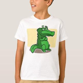 De kinder T-shirt van de Krokodil