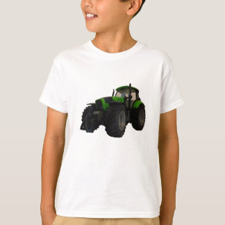 De kinder T-shirt van de tractor