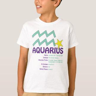 De Kinder T-shirt van de Trekken van Waterman