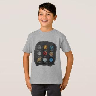 De Kinder T-shirt van de Waterverf van het