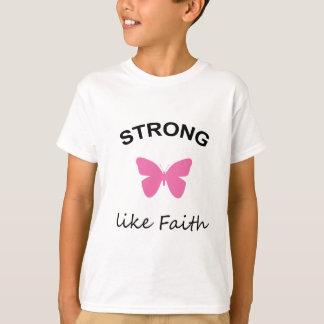 De Kinder T-shirt van het geloof en van de