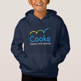 De KINDER Vacht Hoodie, Marine van het Logo Cooke