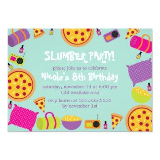 De Kinder Verjaardag van de Partij van de sluimer Kaart
