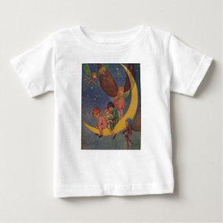 De kinderen en de Feeën berijden de Maan, Baby T Shirts