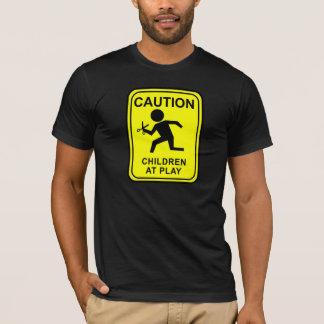De Kinderen van de voorzichtigheid bij Spel die - T Shirt