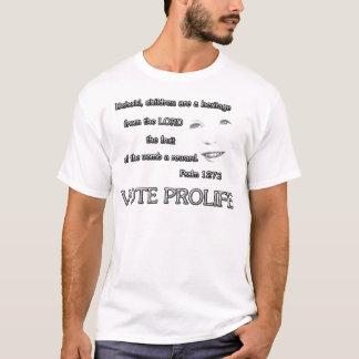 De kinderen zijn een Heritage~ Stem ProLife T Shirt