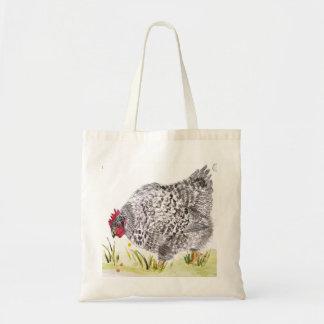 De kip van Mary Hen het winkelen zak Draagtas