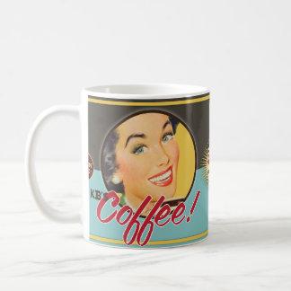 De kitsch Bitsch: KB Koffie! Koffiemok