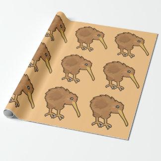 De Kiwi van Kawaii Inpakpapier