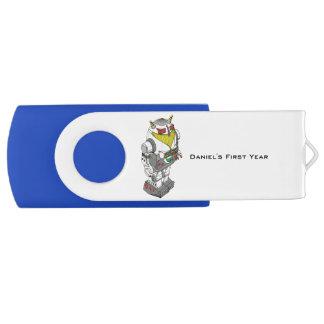 De klantgerichte Aandrijving van de Flits van USB Swivel USB 2.0 Stick