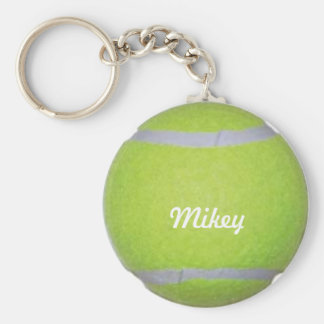 De klantgerichte Bal van het Tennis Sleutelhanger