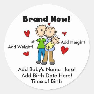 De klantgerichte Gloednieuwe Stickers van het Baby