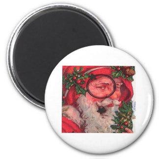 De Klantgerichte Kerstman van Kerstmis - Koelkast Magneten