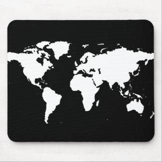 de klantgerichte kleur van wereldkaarten ~ muismat