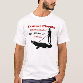 De KLANTGERICHTE KrokodilleVanger van het Overhemd T Shirt