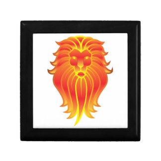 De klantgerichte Leeuw van de Dierenriem van de Decoratiedoosje