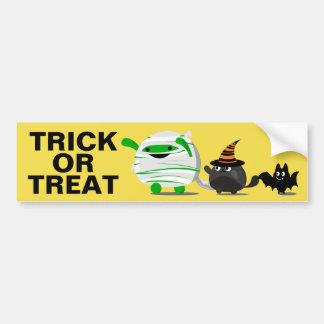 De klantgerichte Leider van de Brij Halloween - Bumpersticker