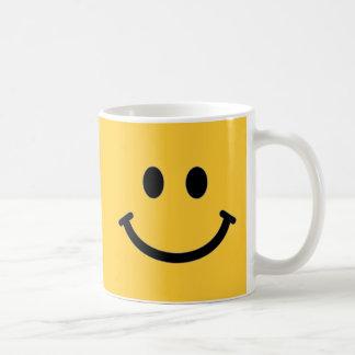 De klantgerichte Mok van het Gezicht Smiley