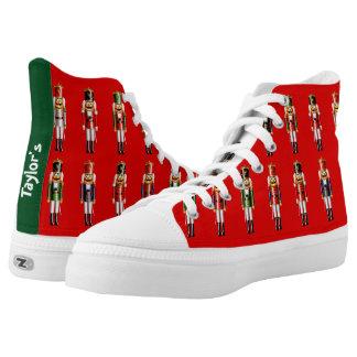 De klantgerichte Notekrakers van Kerstmis High Top Schoenen