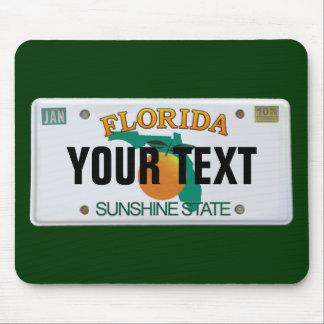 (De Klantgerichte) Nummerplaat van Florida Muismat