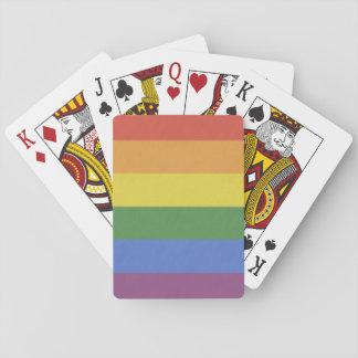 De klantgerichte Speelkaarten van de Regenboog