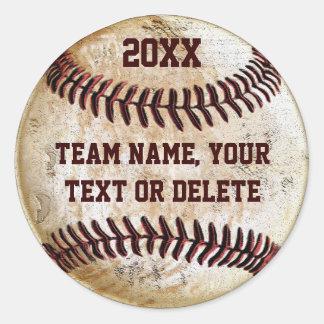 De klantgerichte Stickers van het Honkbal voor de