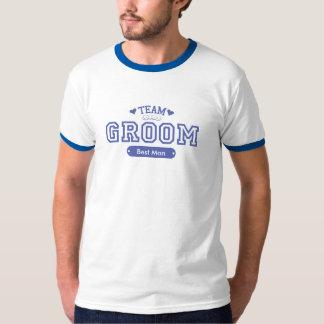 De Klantgerichte T-shirt van de Bruidegom van het