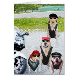 De klantgerichte Verjaardag van de Honden van de Briefkaarten 0