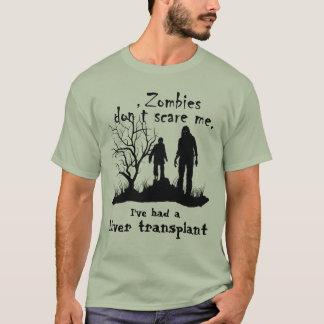 """De klantgerichte """"Zombieën doen schrikken me niet T Shirt"""