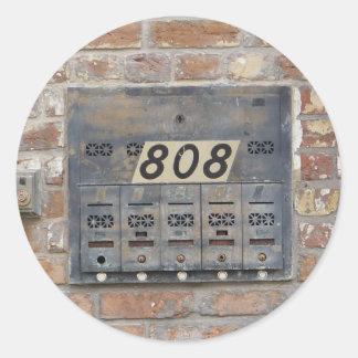 De Klappen van NOLA als 808 Ronde Sticker
