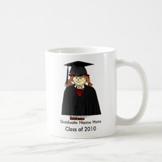 De klasse van 2010 voegt Gediplomeerd Afbeelding Koffiemok