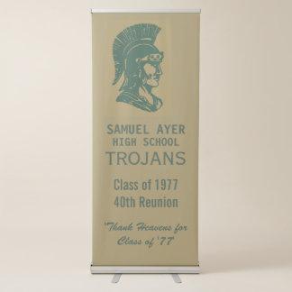 De Klasse van Ayer van '40ste Trojan Bijeenkomst Roll-up Banner
