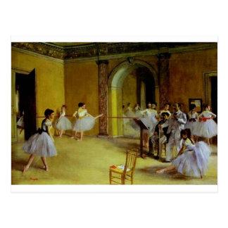 De Klasse van de dans bij de Opera door Degas Briefkaart