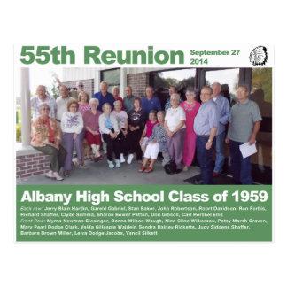 De Klasse van de Middelbare school van Albany van Briefkaart