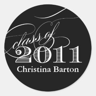 De klasse van de Sticker van 2011 past het aan!