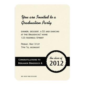 De Klasse van de Verbinding van het Diploma van de 11,4x15,9 Uitnodiging Kaart