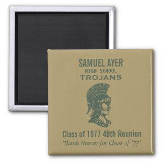 De Klasse van Samuel Ayer veertigste van '77 Magneet