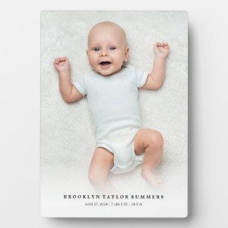 De klassieke Eenvoudige Witte Schildersezel van de Fotoplaat