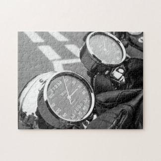 De klassieke Fiets van de Motor Puzzel