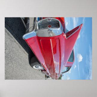 de klassieke hete staaf van Cadillac van 1962 Poster