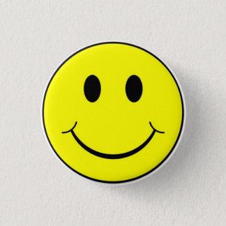 De klassieke Retro Knoop van het Gezicht Smiley Ronde Button 3,2 Cm