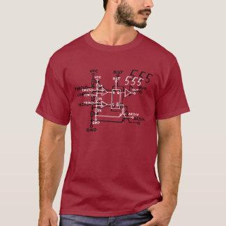 De klassieke Schematische Kring van de Spaander T Shirt