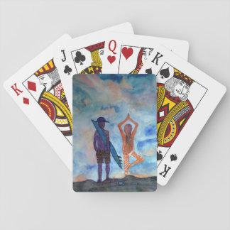 De Klassieke Speelkaarten van de Kunst van de