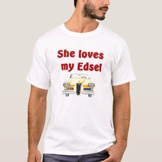 De klassieke T-shirt van Edsel van jaren '50