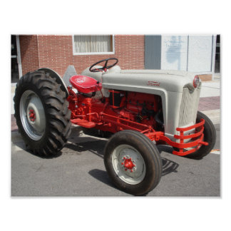 De klassieke Tractor van Ford Poster